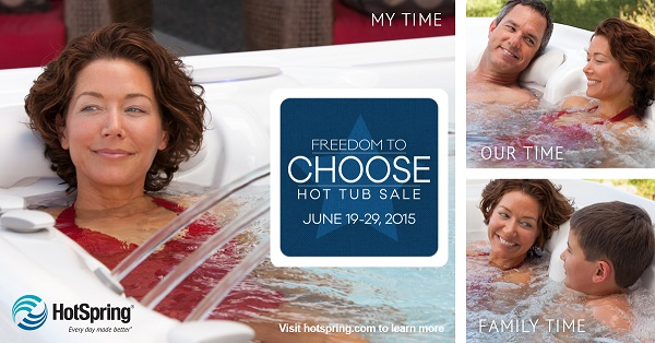 hot spings freedom to choose event