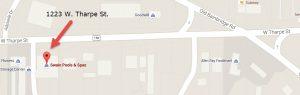 pool service Tallahassee location